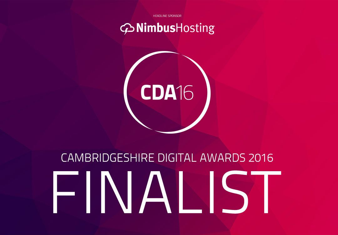 CDA Cambridgeshire Design Awards 2016 Finalist Infiniti Graphics design ely Cambridgeshire