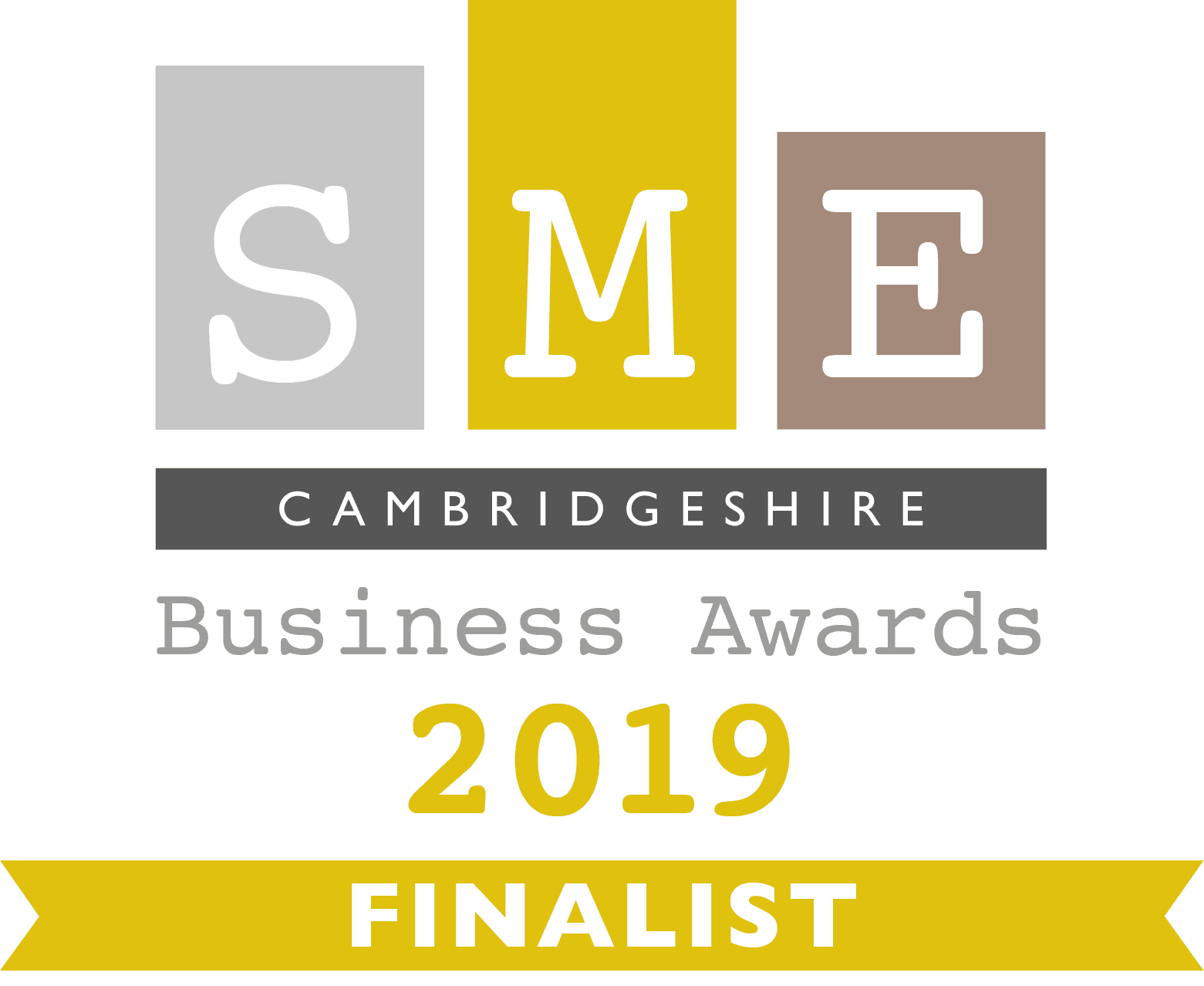 SME Cambridgeshire Business Awards 2019 Finalist Infiniti Graphics design ely Cambridgeshire