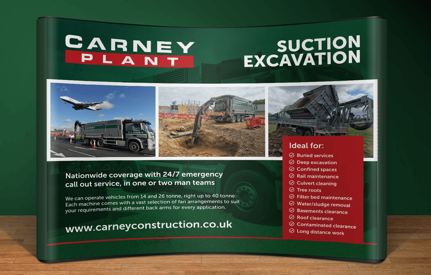Carney Plant Exhibition Stand