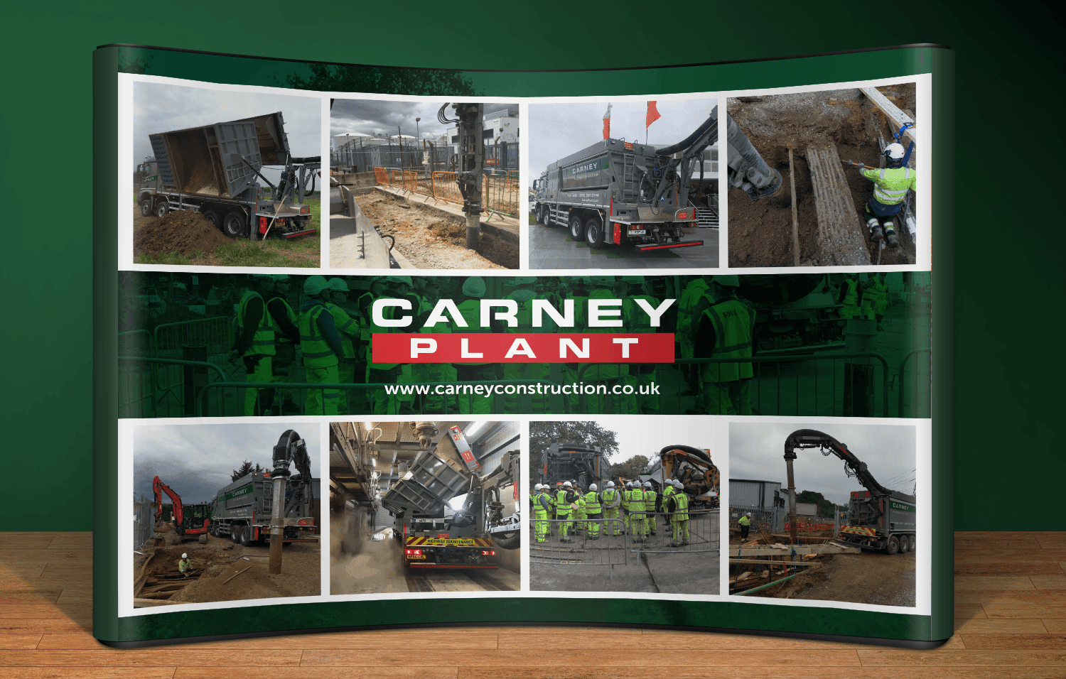Carney Plant exhibition stand 2