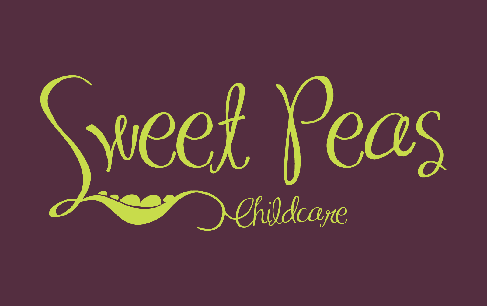 Sweet peas child care logo explanation
