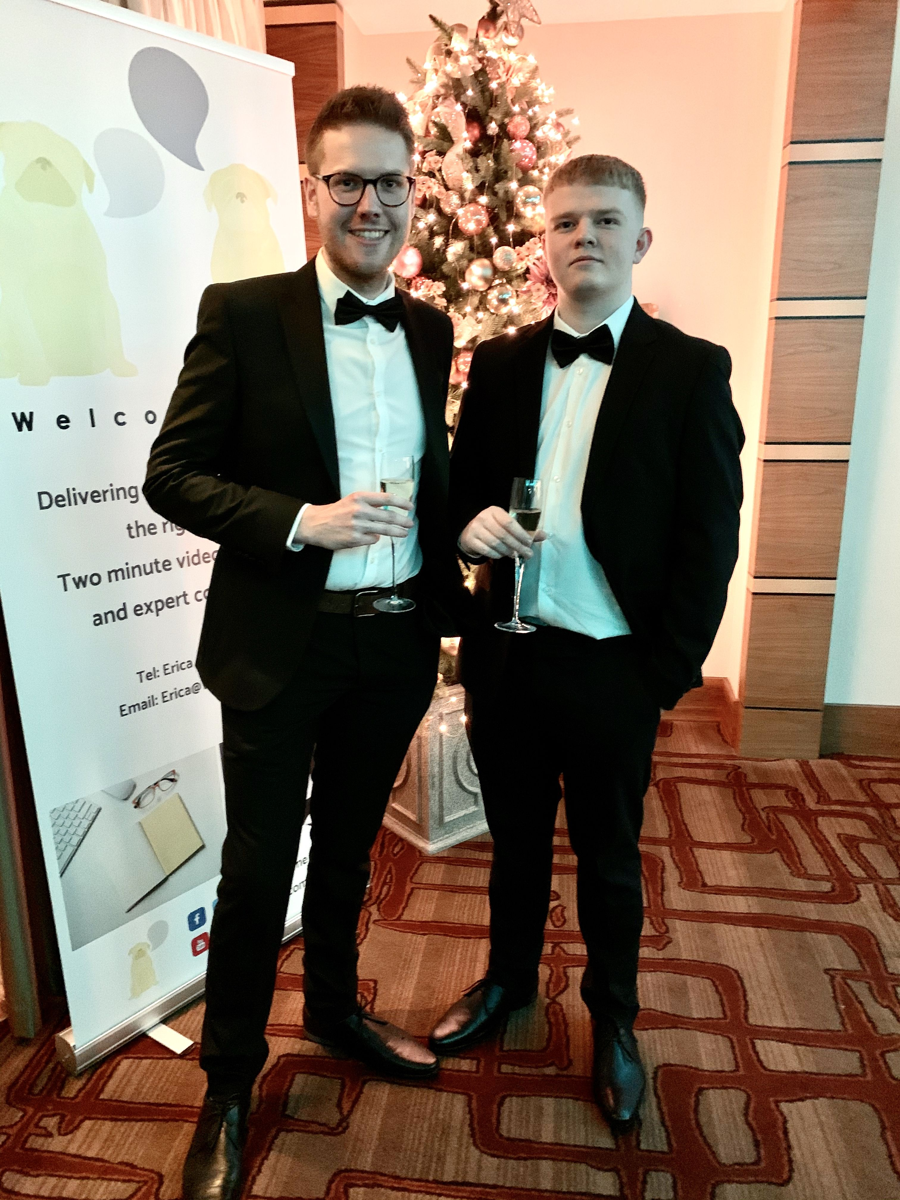 GBS gala dinner and awards evening 2019 Luke Smith and Rian Swift