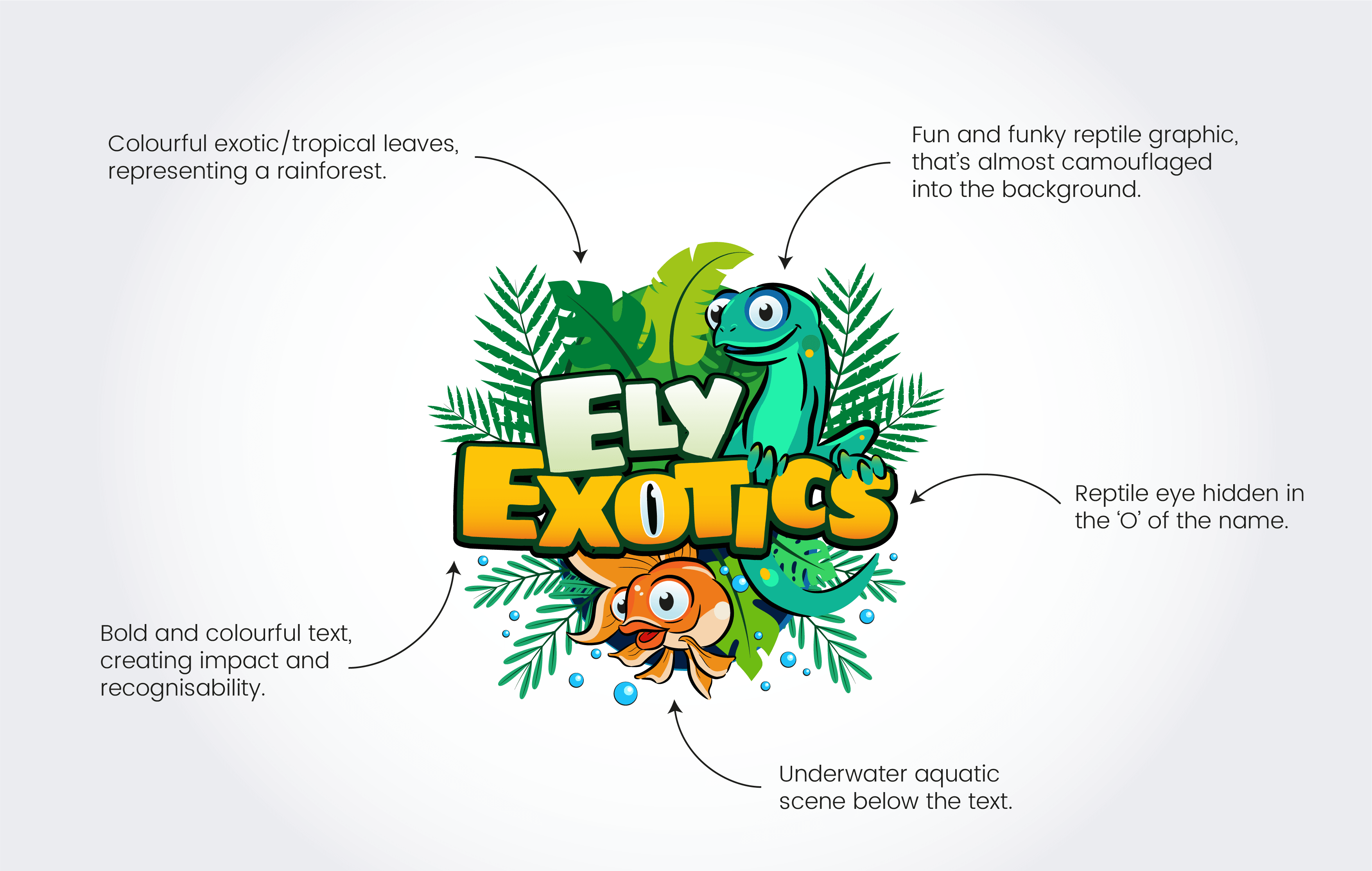 ely exotics logo explanation