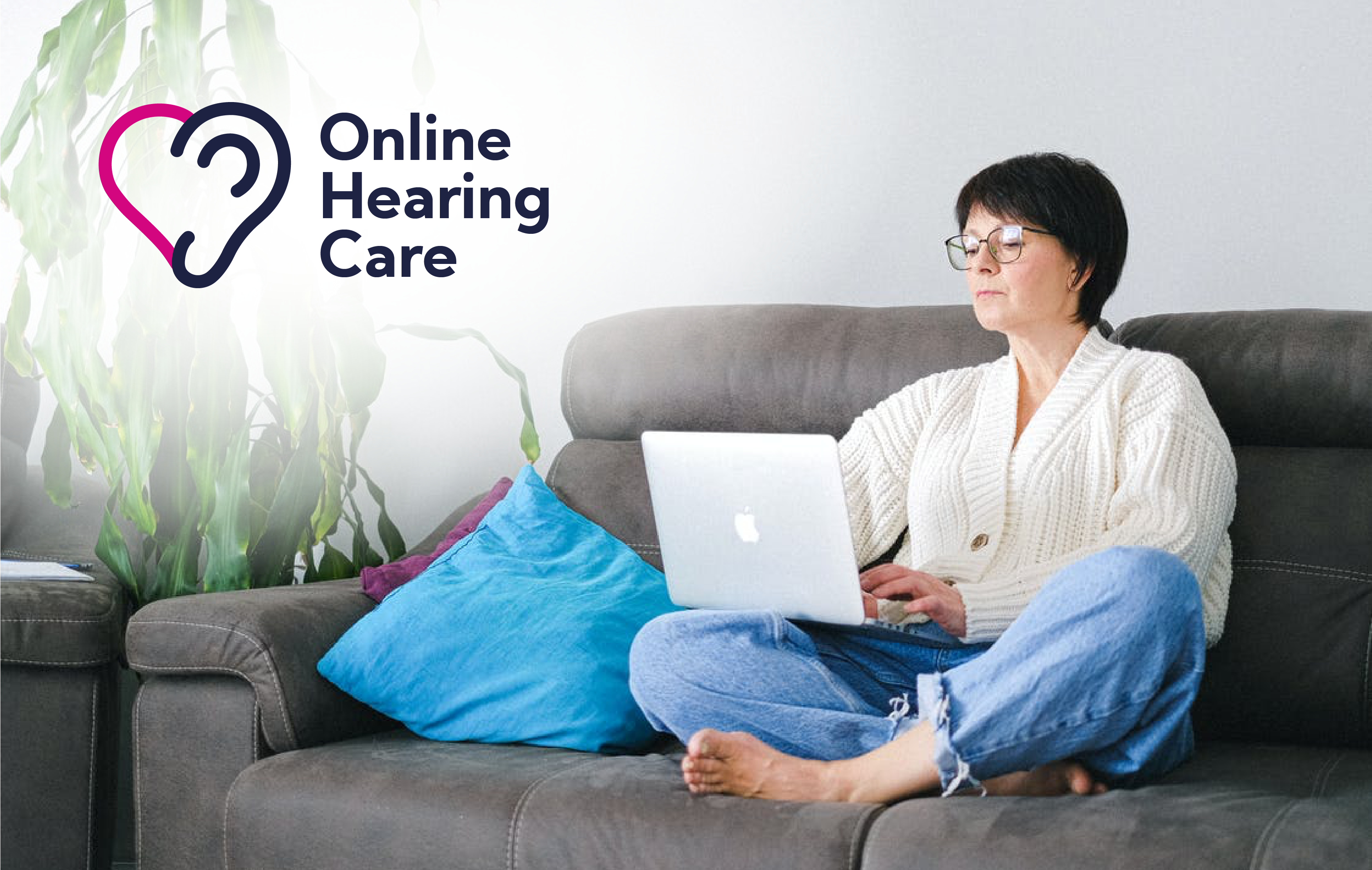 Online hearing care logo