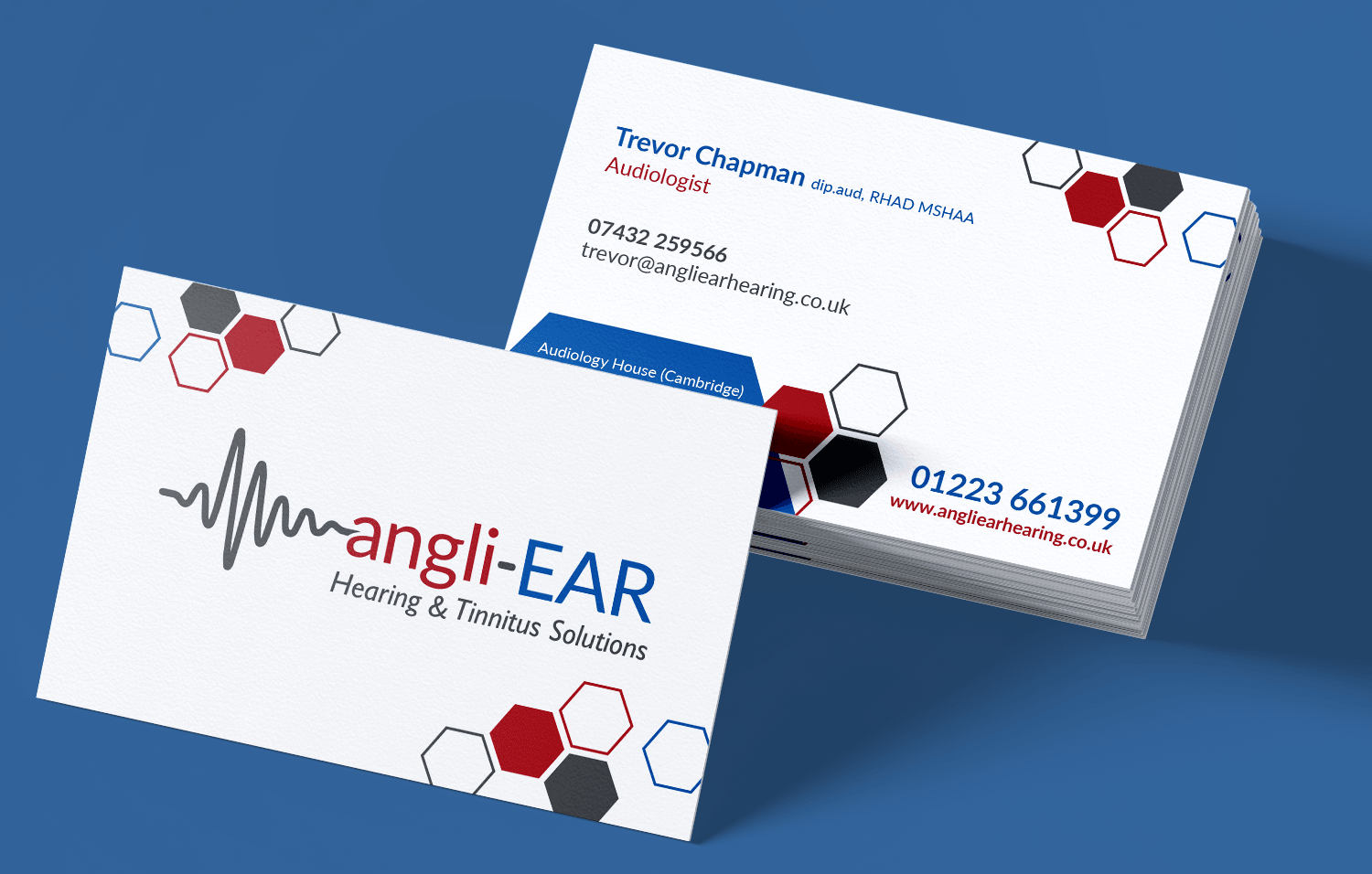 angliEAR business cards