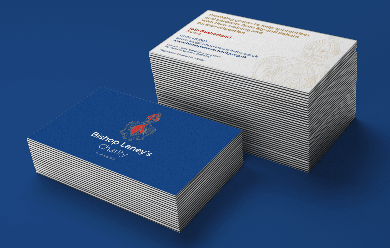 Bishop Laney's Charity Business Cards - Infiniti Graphics