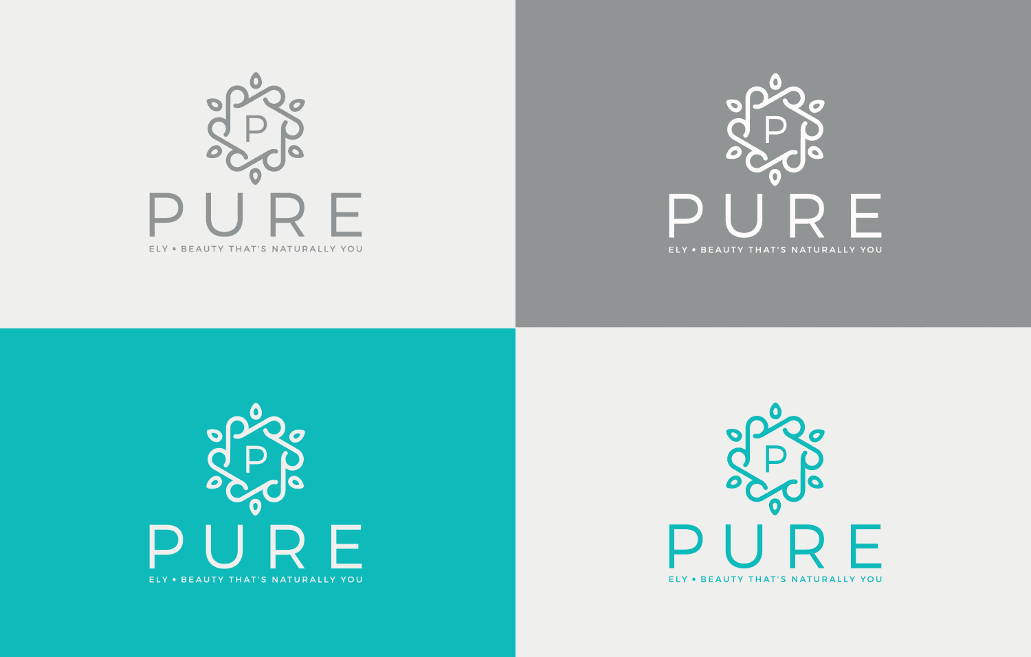Pure Ely logo 4 way
