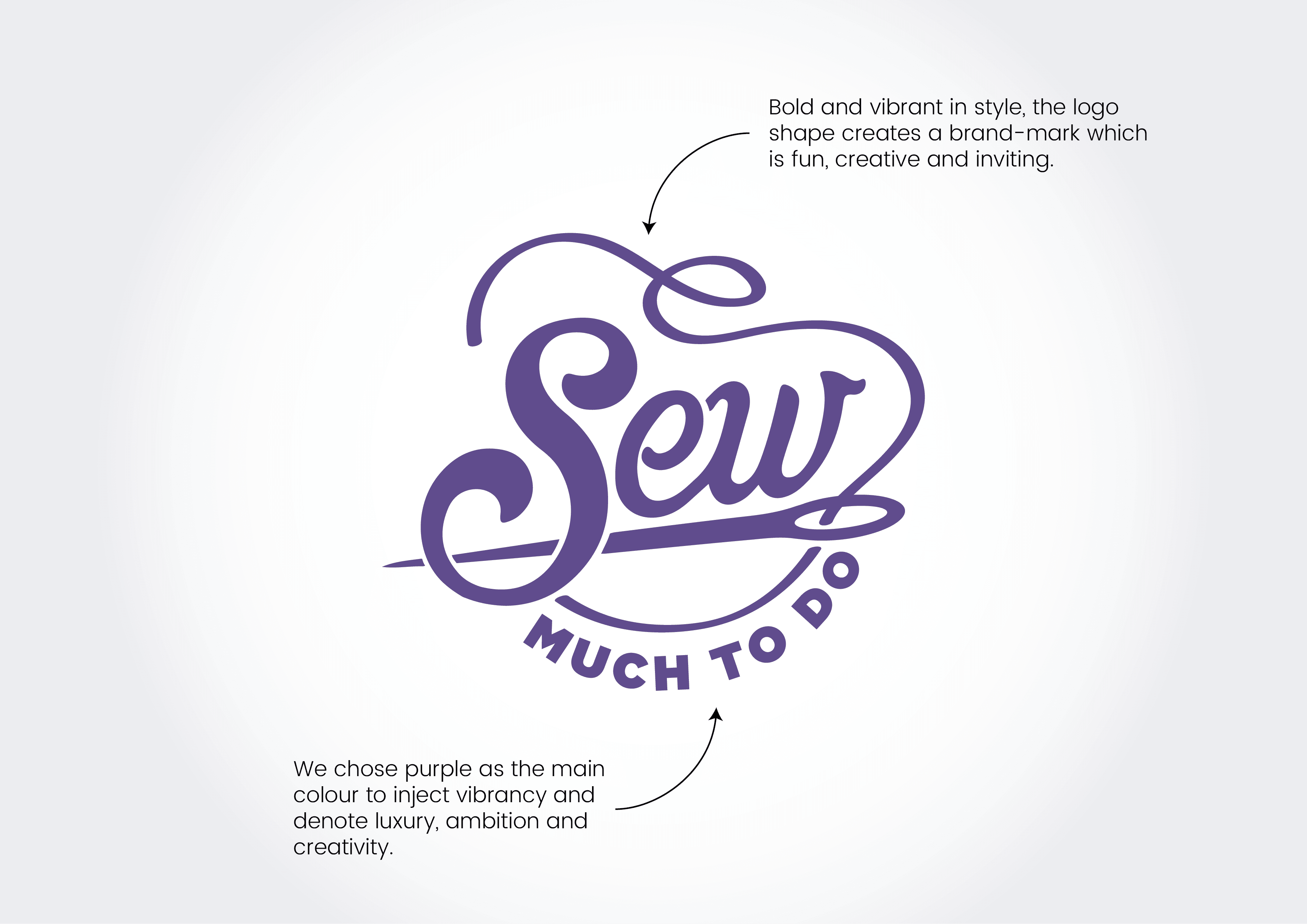 Sew much to do logo explanation