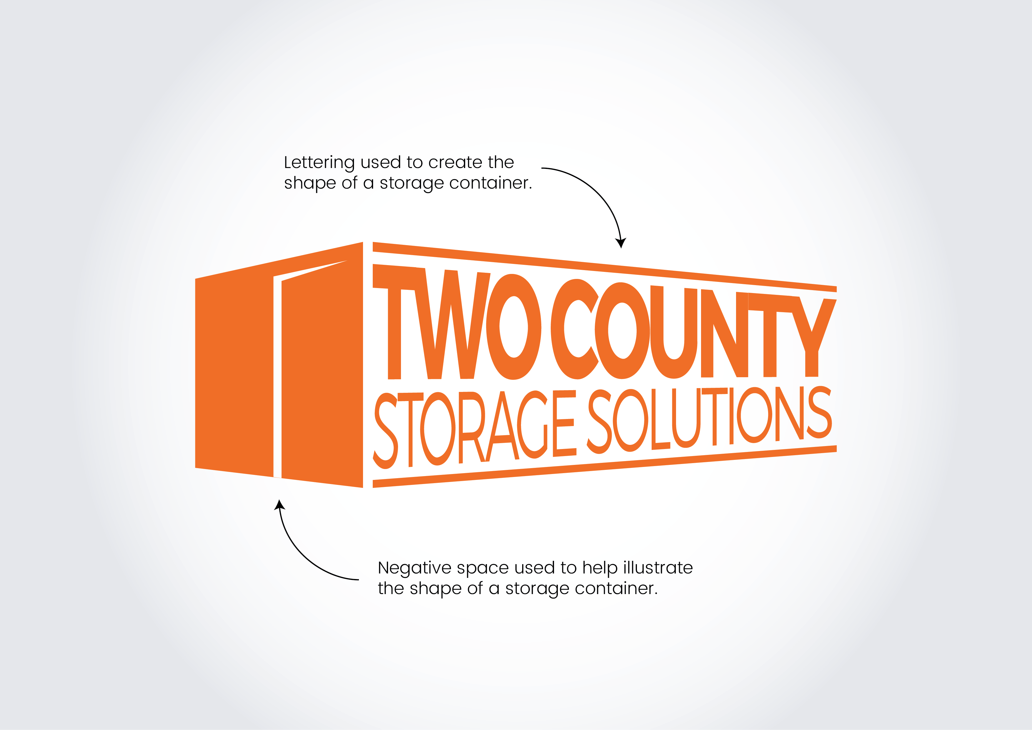 Two County Storage logo working
