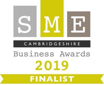 We've made it to the final of the SME Cambridgeshire Business Awards 2019!