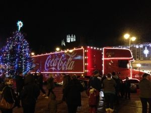 How Coca-Cola encourages consumer behaviour from their Christmas truck tour